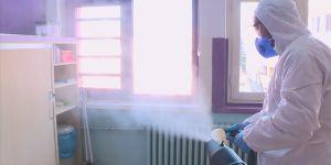 Meslek liselerinde üretilen dezenfektanlar okulları temizleyecek