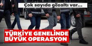 Türkiye genelinde büyük operasyon: 2 bin 682 kişi yakalandı