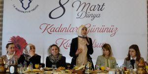 Erzurum'da 8 Mart Kadınlar Günü etkinliği