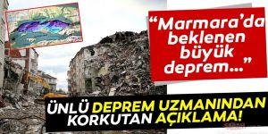 İstanbul'da beklenen büyük depremle ilgili korkutan açıklama