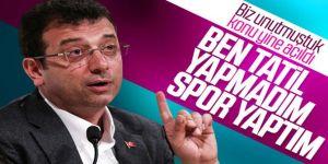Ekrem İmamoğlu'nun Erzurum tatili açıklaması