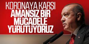 Cumhurbaşkanı Erdoğan koronavirüse karşı uyardı