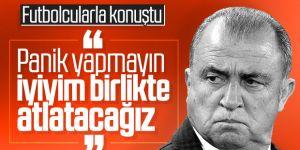 Fatih Terim'den futbolcularına koronavirüs mesajı