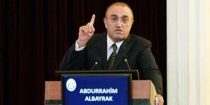 Korona virüs tedavisi gören Abdurrahim Albayrak'tan yeni mesaj