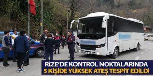 Erzurum sınırında durduruldular!