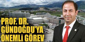 Prof. Dr. Gündoğdu'ya Önemli Görev