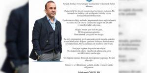 Mehmet Özdilek'ten duygulandıran doğum günü mesajı