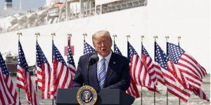 Trump: Çoğu zaman şal ile yüzünüzü kapatmak daha iyi