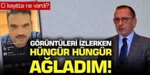"""Fatih Altaylı: """"Görüntüleri izlerken hüngür hüngür ağladım"""""""