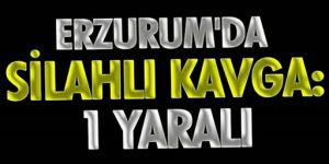 Erzurum'da Salı pazarında silahlı kavga: 1 yaralı