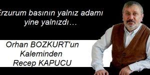 Erzurum basının yalnız adamı yine yalnızdı…