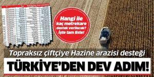 Çiftçilere büyük müjde! 7 ilde araziler çiftçiye açıldı!