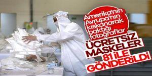 Ücretsiz maskeler dağıtıma çıktı