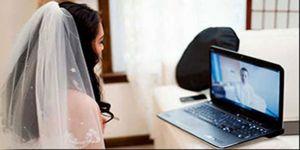 Artık evlilikler internet üzerinden yapılabilecek