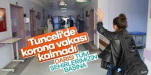 Tunceli'de korona vakası kalmadı