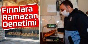 Erzurum'da zabıta fırınları denetledi