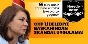 CHP'li Belediye Başkanı Köse'den skandal!