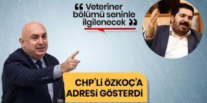 Savcı Sayan CHP'li Engin Özkoç'a baytarı adres gösterdi