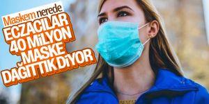 TEB Başkanı Çolak: Eczanelere 55 milyon maske dağıtıldı