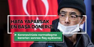 Prof. Dr. Mehmet Ceyhan: Hata yaparsak en başa döneriz!