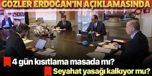 Erdoğan'ın masasında 4 günlük yeni sokağa çıkma yasağı var
