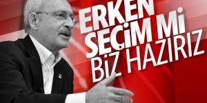 Kemal Kılıçdaroğlu'na erken seçim sorusu