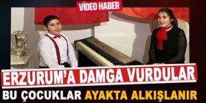 Erzurum'da Öğrencilerden 19 Mayıs'a özel klip