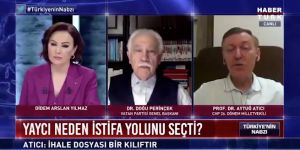 Doğu Perinçek'in canlı yayındaki Atatürk örneği tartışma yarattı!