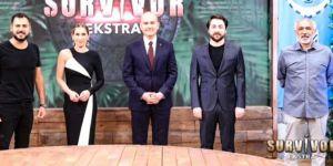 İçişleri Bakanı Süleyman Soylu'dan Survivor Extra'ya ziyaret