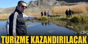 """Erzurum'un """"yüzen adaları""""na turizm yatırımı"""