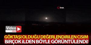 Muhteşem doğa olayını Erzurum'da izledi