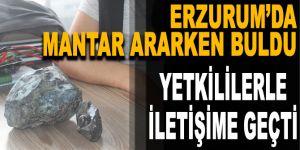 'Erzurum'da gök taşı bulundu' iddiası!