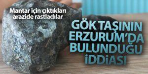 Gök taşının Erzurum'da bulunduğu iddiası