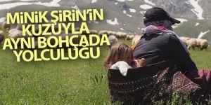 Minik Şirin'in kuzuyla aynı bohçada yolculuğu