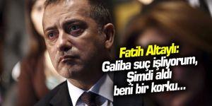 Fatih Altaylı: Galiba suç işliyorum... Kaynak: Fatih Altaylı: Galiba suç işliyorum...