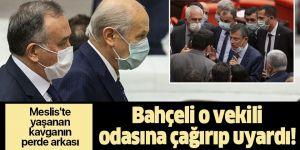 MHP lideri Devlet Bahçeli makam odasına çağırıp uyardı!