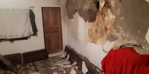 Bingöl depremi Erzurum'da da hasara neden oldu