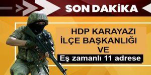 Erzurum'da MİT destekli terör operasyonunda 7 kişi yakalandı