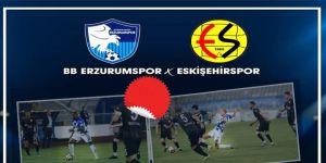 BB Erzurumspor: 1 - Eskişehirspor: 0