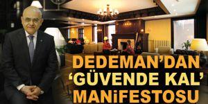 Dedeman'dan 'güvende kal' manifestosu