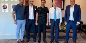Erzurumspor Kulübü'nden TFF Başkanı Nihat Özdemir'e nezaket ziyareti