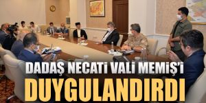 Dadaş Necati, Vali Memiş'i duygulandırdı