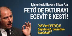 AK Partili Efkan Ala, FETÖ'de faturayı Bülent Ecevit'e kesti!