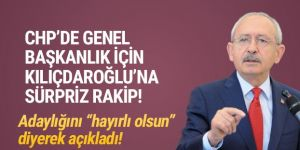 CHP'de Kılıçdaroğlu'na karşı bir aday daha!