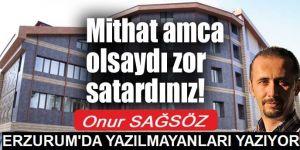 Erzurum Kızılay doğ oteli satışa çıktı