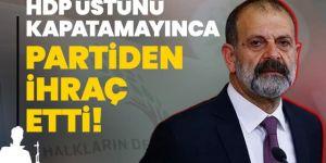 HDP Milletvekili Tuma Çelik, partisinden ihraç edildi