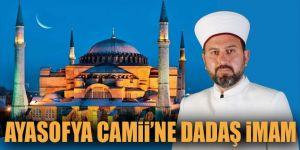 Ayasofya camii'ne dadaş imam