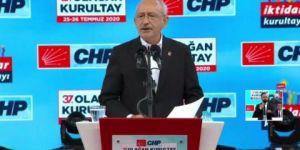 Kemal Kılıçdaroğlu, CHP Kurultayı'nda konuşuyor