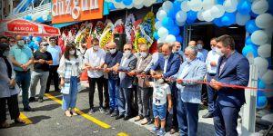 Düzgün market 18'nci şubesini törenle açtı