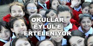 Okulların açılışı için yeni tarihi iddiası: Eylül sonu!